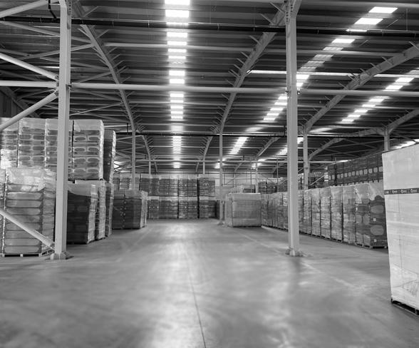 2019: Bonus Taş Yünü tesisinde yeni depolama alanı yatırımı yapıldı.