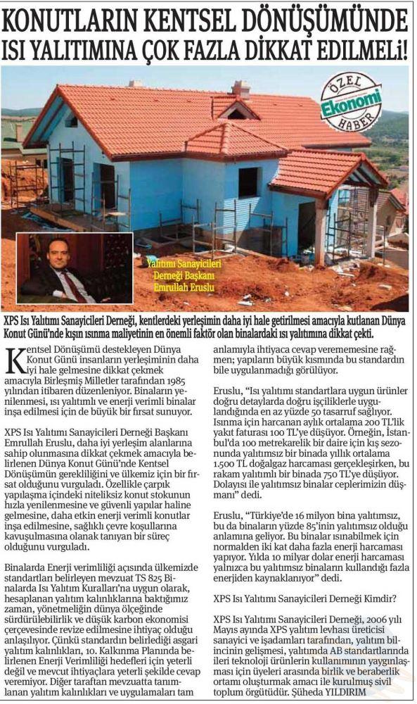 Ekonomi Gazetesi 22 Ekim 2015