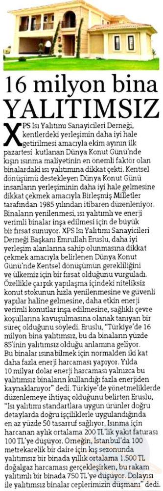 Hürriyet Gazetesi 24 Ekim 2015